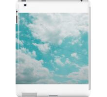 Voices in the Clouds 1 iPad Case/Skin