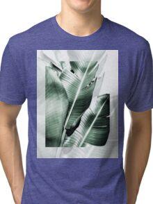 Banana leaf akin Tri-blend T-Shirt