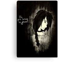 Angel of Small Death Canvas Print