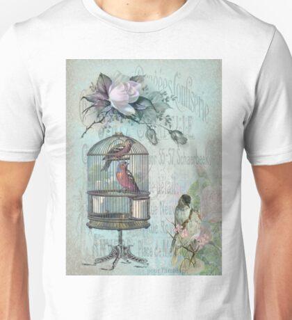 Birdcage Blossom Unisex T-Shirt