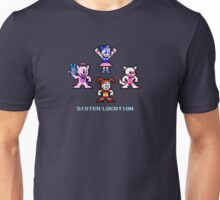 8-bit Sister Location FNAF Five Nights at Freddy's Unisex T-Shirt