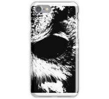 night vision black owl iPhone Case/Skin