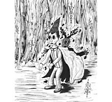 Beast Wirt ( ink sketch ) Photographic Print