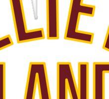 Believe Land Sticker