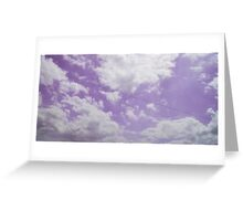 Voices in the Clouds 5 Greeting Card