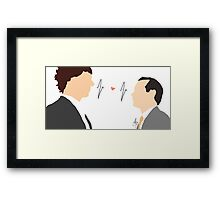 Sheriarty (Sherlock x Moriarty) Framed Print