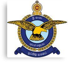 Sri Lanka Air force Canvas Print