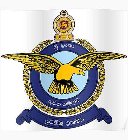 Sri Lanka Air force Poster