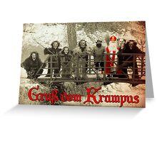 Gruss vom Krampus - vintage Greeting Card