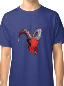 Decay Hath Such Grace - Ram Skull - RED Classic T-Shirt