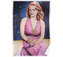 Bette Davis Fan art Poster