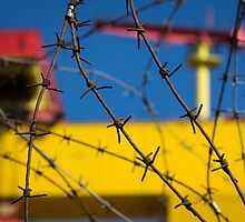 Shipbuilding and Barbed Wire by Darren Brown