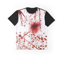 SPLATTERED BLOOD Graphic T-Shirt