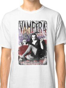 The Vampira Show.  Classic T-Shirt