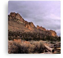 Smith Rock State Park, Oregon Canvas Print