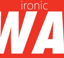 Ironic Swag Sticker