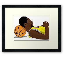 Legend Framed Print