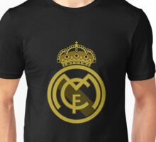 Real Madrid Logo Gold Unisex T-Shirt