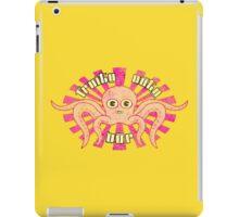 """Fruity Oaty Bar! """"OCTOPUS"""" (Vintage) iPad Case/Skin"""