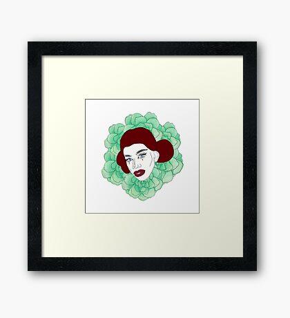 Naomi Smalls Framed Print