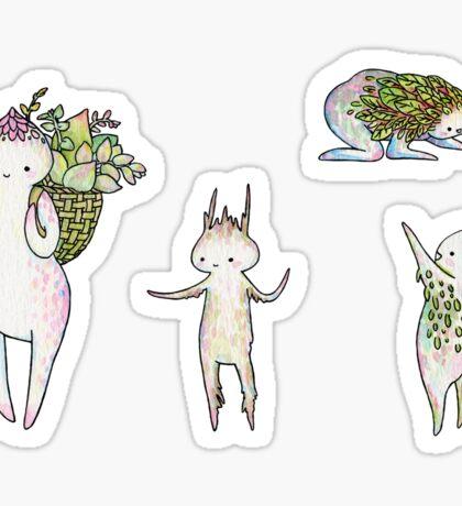 Succulent Exploration Party #1 Sticker
