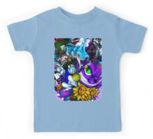 Scary Face 2 Kids Tee