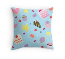 Pastry Party Throw Pillow