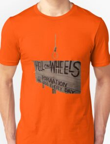 Hell On Wheels sign T-Shirt