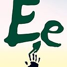 Ee + sign language symbol by Robyn Williams