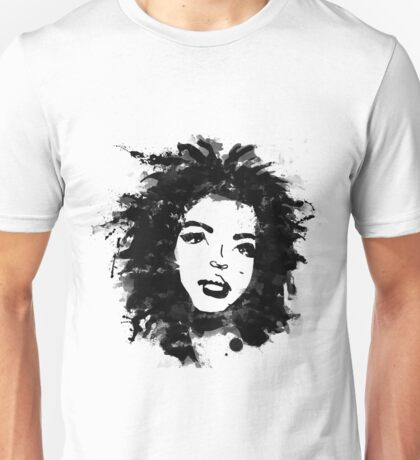 Lauryn Hill (monochrome) Unisex T-Shirt