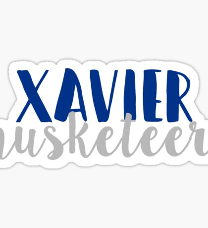 Xavier Musketeers Sticker