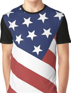 The American Flag Graphic T-Shirt