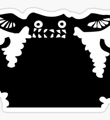 Kaiju Crazy Ears Sticker