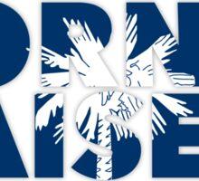 South Carolina - Born & Raised. Sticker