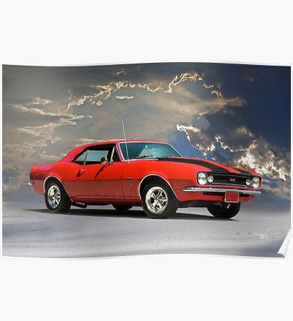 1967 Chevrolet Camaro SS327 Poster