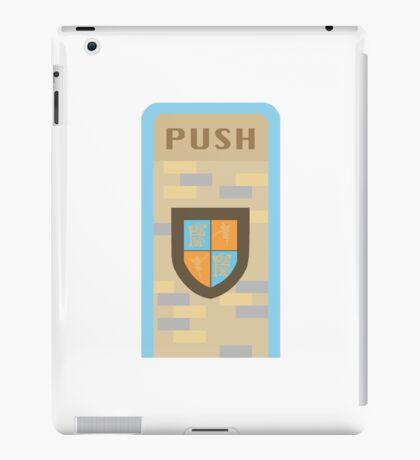 Fantasyland Trash Can Design iPad Case/Skin
