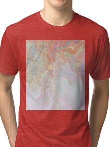 Pastel Marble #redbubble Tri-blend T-Shirt