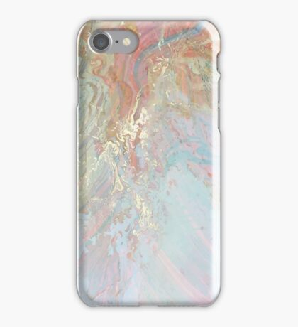 Pastel Marble #redbubble iPhone Case/Skin