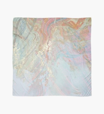Pastel Marble #redbubble Scarf