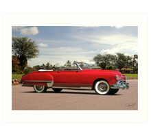 1949 Oldsmobile Convertible Art Print