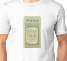 Main Street Trash Can Design Unisex T-Shirt