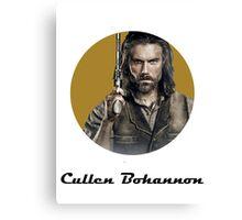 Cullen Bohannon Canvas Print