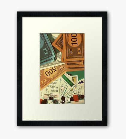Monopoly Empire Framed Print