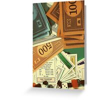 Monopoly Empire Greeting Card