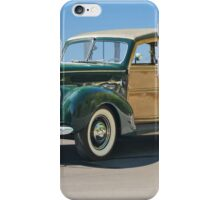 1938 Ford  81A 'Woody' Station Wagon iPhone Case/Skin
