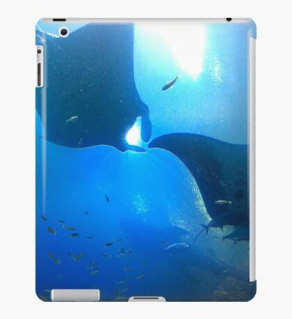 A pair of rays (manta rays) iPad Case/Skin