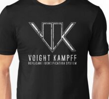 Blade Runner Voight Kampff Test Unisex T-Shirt