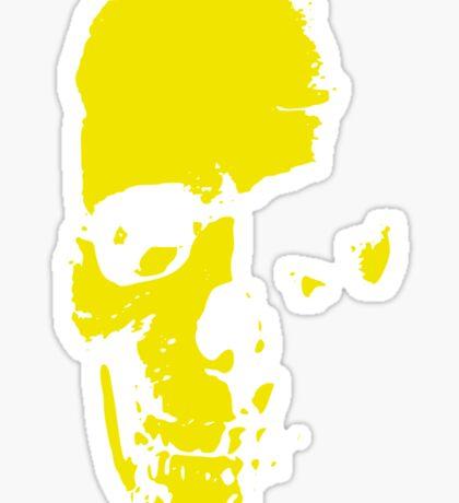 Old Skull - Vieille tête de mort Sticker