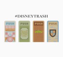 """#Trash"" Trash Can Design One Piece - Long Sleeve"