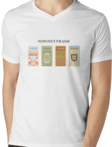 """#Trash"" Trash Can Design Mens V-Neck T-Shirt"